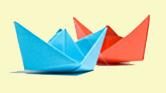 Оригами - Кораблик
