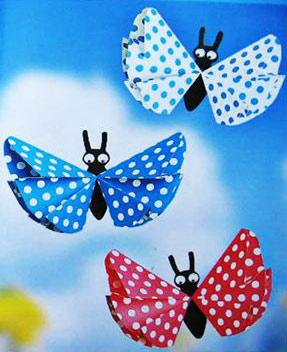 Оригами: Бабочки