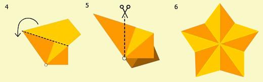 Звездочка  Оригами-5697