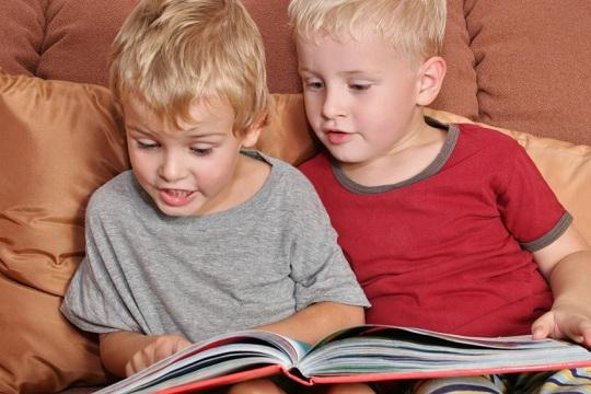 Учимся читать с помощью альбома для чтения