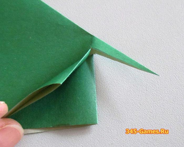 Оригами: Бегемотик