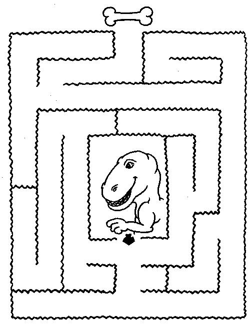 Лабиринт - Косточка для динозавра