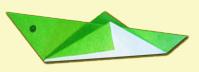 Оригами - Кузнечик