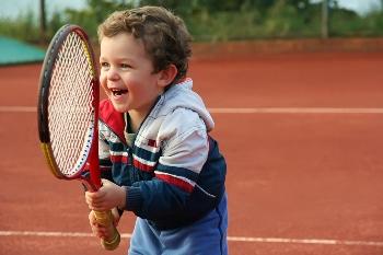 Дети и теннис