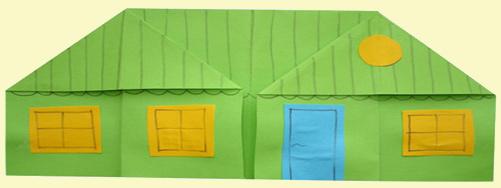 Оригами: Домик