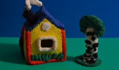Поделки домик из пластилина своими руками 90