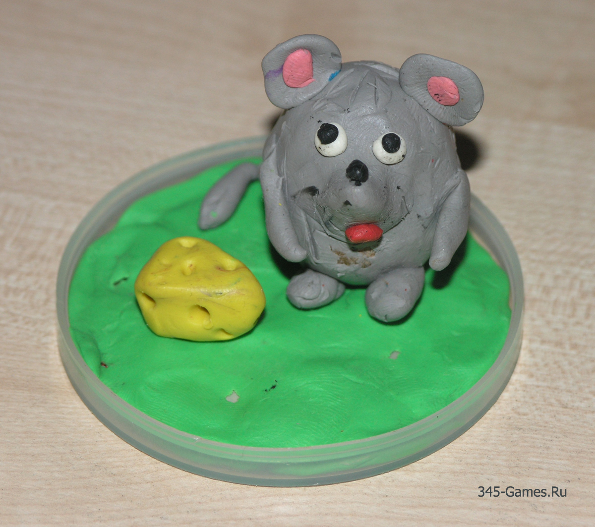 Мышонок из картофеля