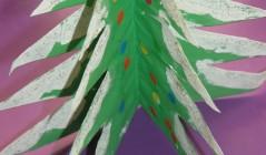 Новогодняя елочка-книжка