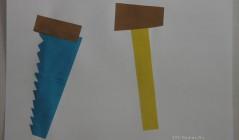 Аппликация из бумаги - Инструменты