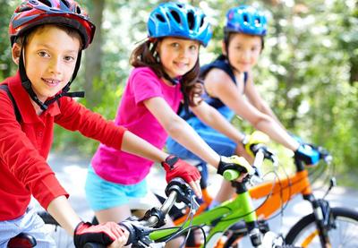 Польза велосипеда для здоровья ребенка