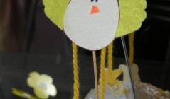 Поделка к Пасхе: Пасхальная курочка