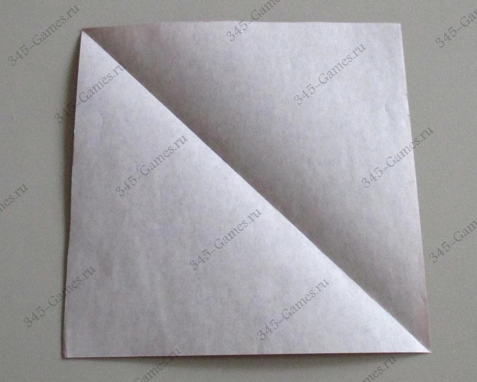 Оригами: белка-летяга
