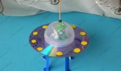 Летающая тарелка - Поделки с детьми