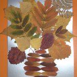 Аппликация «Осенний букет»