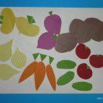 Аппликация «Урожай» из гофрированного картона