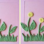 Яркие цветочки из жгутиков