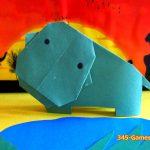Мастер-класс: как сделать бегемота из бумаги