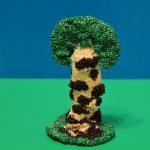 Пластилиновое дерево