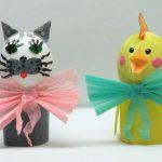 Поделки из яиц вместе с детьми: забавные зверята