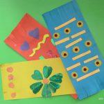 Аппликация «Полотенце для бабушки»