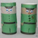 Солдатики из картона и цветной бумаги